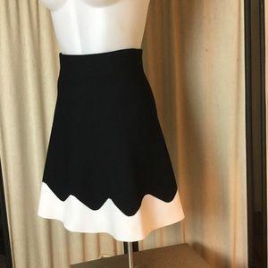 """Zara Basic jersey """"skater"""" skirt.           XS"""